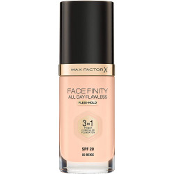 Max Factor Facefinity All Day Flawless 3 in 1 Foundation - Beige - N 55