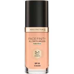 Max Factor Facefinity All Day Flawless 3 in 1 Foundation - Golden - N 75