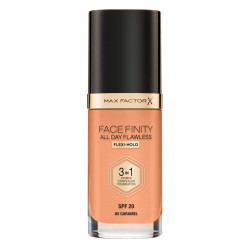 Max Factor Facefinity All Day Flawless 3 in 1 Foundation - Caramel - N 85