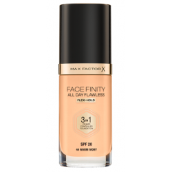 Max Factor Facefinity All Day Flawless 3-In-1 Foundation - N 44 - Warm Ivory