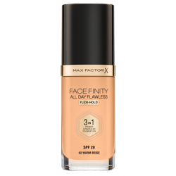 Max Factor Facefinity All Day Flawless 3-In-1 Foundation -N 62 - Warm Beige