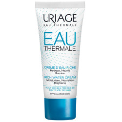 Uriage Eua Rich Water Cream for Very Dry To Dry Skin - 40 ml