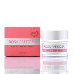Rosa Pretiosa - Night Cream With Bulgarian Rose Oil - 50 Ml