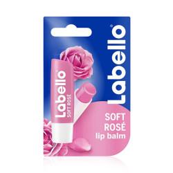 Labello Soft Rosé Caring Lip Balm - 4.8g