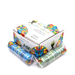 Al Amir Rainbow Swift Lite Charcoal Tabs - 80 Pcs