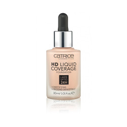 Catrice HD Liquid Coverage Foundation - N 010 - Light Beige