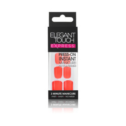 Elegant Touch - Express Nail Extensions Polished - Vibrant Orange