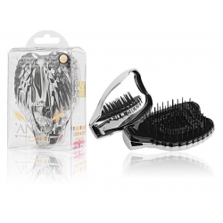 Tangle Angel Pro Compact Detangling Hair Brush - Titanium