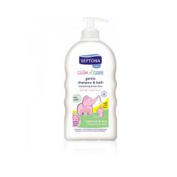 Septona Calm N' Care Shampoo & Bath With Hypericum & Aloe Vera - 500ml