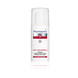 Pharmaceris Capi-Hialuron-C Wrinkle Dermo-Structural Correction Cream - 50 ml