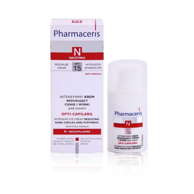 Pharmaceris N Opti-capilaril Eye Cream Reducing Dark Circles And Puffiness - 15 ml