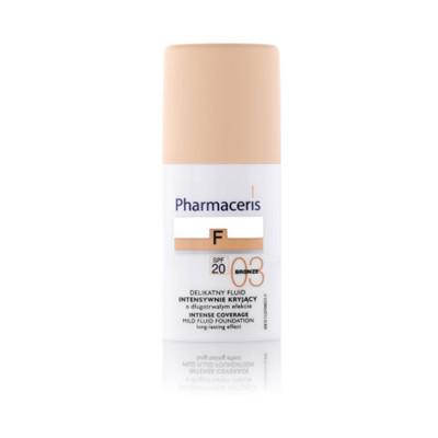 Pharmaceris Intense Mild Fluid Foundation Long Lasting Effect With SPF 20 - N 3 - Bronze