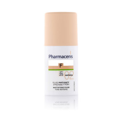 Pharmaceris Mattifing Pore Refining Fluid Foundation With SPF 25 - N 2 - Natural
