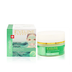 Eveline - Facemd Purifying and Smoothing Mask With Green Clay - 50 ml