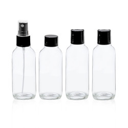 Cala Travel Bottle Kit - 4 Pcs - 3 oz
