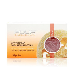 Fouf Natural Glycerin Soap - Rose - 185g