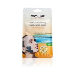 Fouf - Dead Sea Soothing Facial Mud Mask - With Aloe Vera & Tea Tree Oil - 50g
