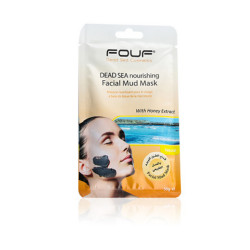 Fouf - Dead Sea Nourishing Facial Mud Mask - With Honey Extract - 50g