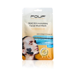Fouf - Dead Sea Moisturizing Facial Mud Mask - With Collagen & Jojoba Oil - 50g
