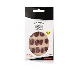 Victoria Professional Shining Nails Tips - 24 Pcs - S 04