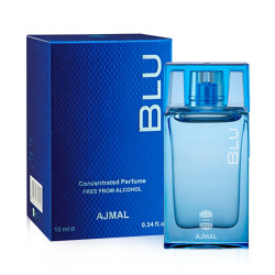 Ajmal Blu Miniature Perfume Oil for Men - 10 ml