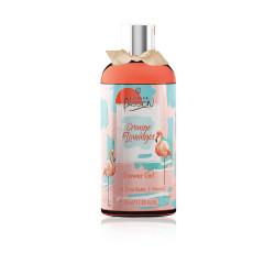 Estiara Passion Orange Flamingo Shower Gel for Women - 350 ml