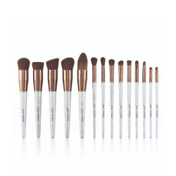 Victoria Professional Make-Up Brush Set  -14Pcs - White