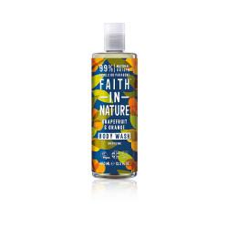 Faith In Nature Natural & Origin Grapefruit & Orange Body Wash - 400 ml
