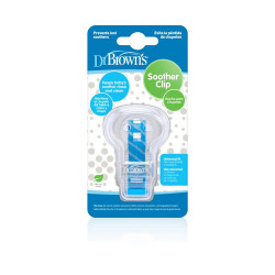 Dr.Browns Pacifier Clip - Blue