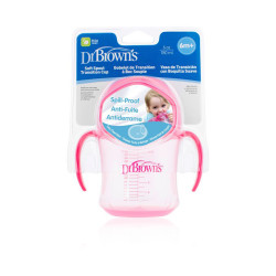 Dr.Browns Feeding Sippy Cup - Pink