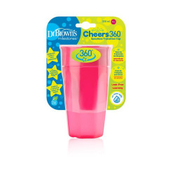 Dr.Browns Cheers 360 Cup - 300 ml - Pink