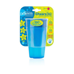 Dr.Browns Cheers 360 Cup - 300 ml - Blue
