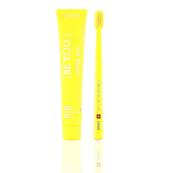 Curaprox - Be You - Whitening Toothpast With Brush Yellow