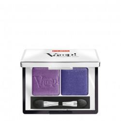 Pupa Vamp Compact Duo Eyeshadow - N 11 - Rock Violet