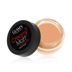 Glams Creamy Matt Foundation - N 240 - Bright Beige