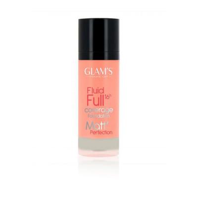 Glams Fluid Full Foundation - N 230 - Nutmeg
