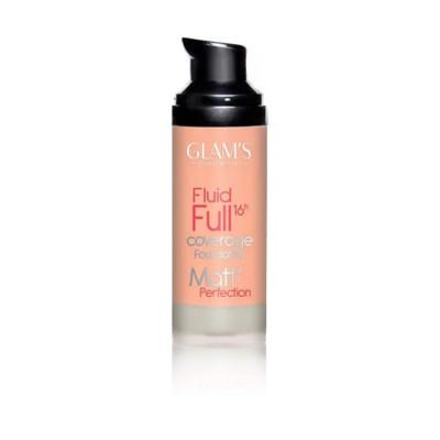 Glams Fluid Full Foundation - N 220 - Light Beige
