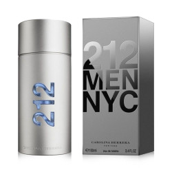 Carolina Herrera 212 Men Nyc Eau De Toilette - 100 ml