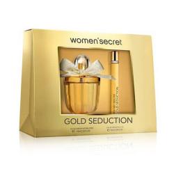 Women Secret Gold Seduction Gift Set EDP 100ml + MiniPerfume 10ml