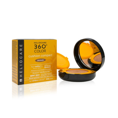 Heliocare 360 Color Cushion Compact SPF 50+ Bronze - 15g