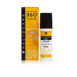 Heliocare 360 Color Gel Oil-free Beige SPF - 50 ml