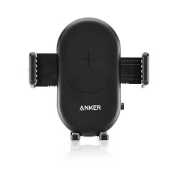 Anker PowerWave 7.5 Car Mount Wireless Charger - Black