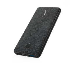 Anker PowerCore Metro Slim Powerbank 10000 mAh - Black Fabric