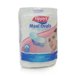 Tippys Makeup Pads Oval Maxi 40 Pieces