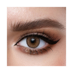 Loroyal Colored Contact Lens - Dream Hazel - 3 Months