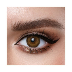 Loroyal Colored Contact Lens - Crystal Hazel - 3 Months