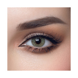 Loroyal Colored Contact Lens - Rose Green - 1 Year
