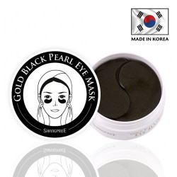 Shangpree - Gold Black Pearl Eye Mask - 60 Patches