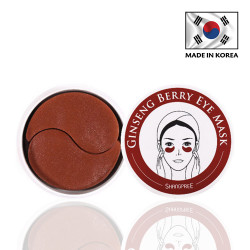 Shangpree - Ginseng Berry Eye Mask - 60 Patches