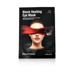 Milky Dress Black Heating Eye Mask